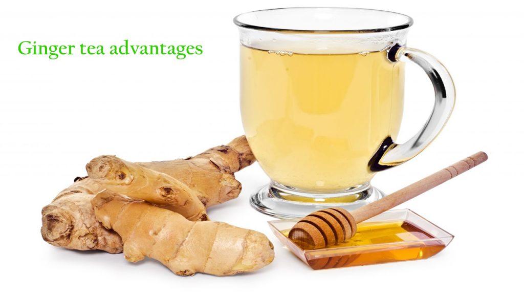 Ginger tea advantages